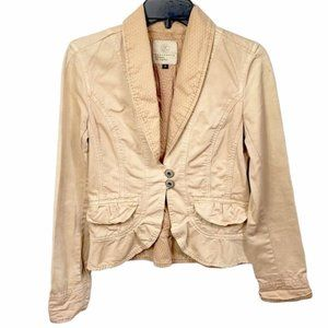Anthro Sanctuary Los Angeles blazer women's small